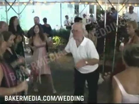 FUNNY OLD MAN DANCING AT WEDDING HOLLA BACK GIRL YouTube