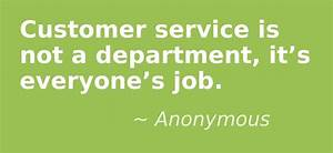 Customer servic... Vocational Service Quotes