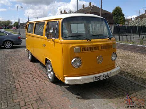 Vw Baywindow Type 2 Camper Van