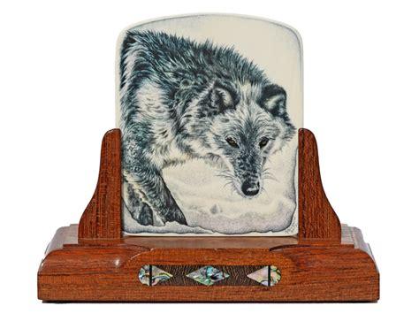 heidi robichaud scrimshaw ghost wolf scrimshaw collector