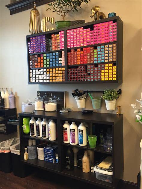 haircolor storage color bar ikea salon suite salon