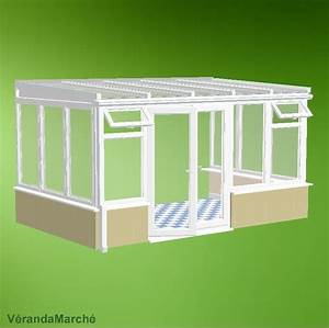Sas D Entree A Faire Sois Meme : veranda en kit la traditionnelle 3 les kits moins chers ~ Premium-room.com Idées de Décoration