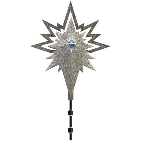lightshow 17 91 in lighted projection tree topper