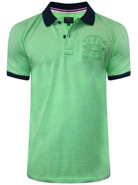 T Shirt Tshirt Green Light buy t shirts arrow light green polo t shirt