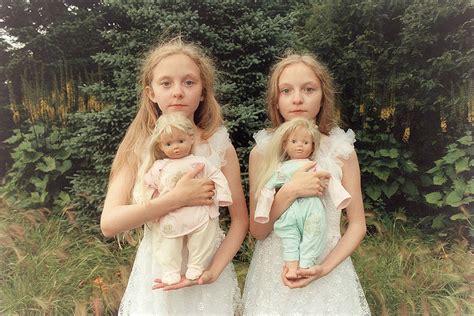 Icelandic Twin Girls Erna & Hrefna In Mysterious Photos By Ariko Inaoka