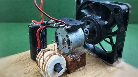 Electric Motor Generator by Electric Free Energy Fan With Dc Motor Generator How To