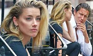 Amber Heard And Vito Schnabel And Actress In Intense