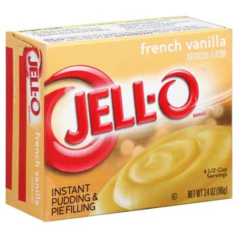 jell  jello instant french vanilla pudding pie filling