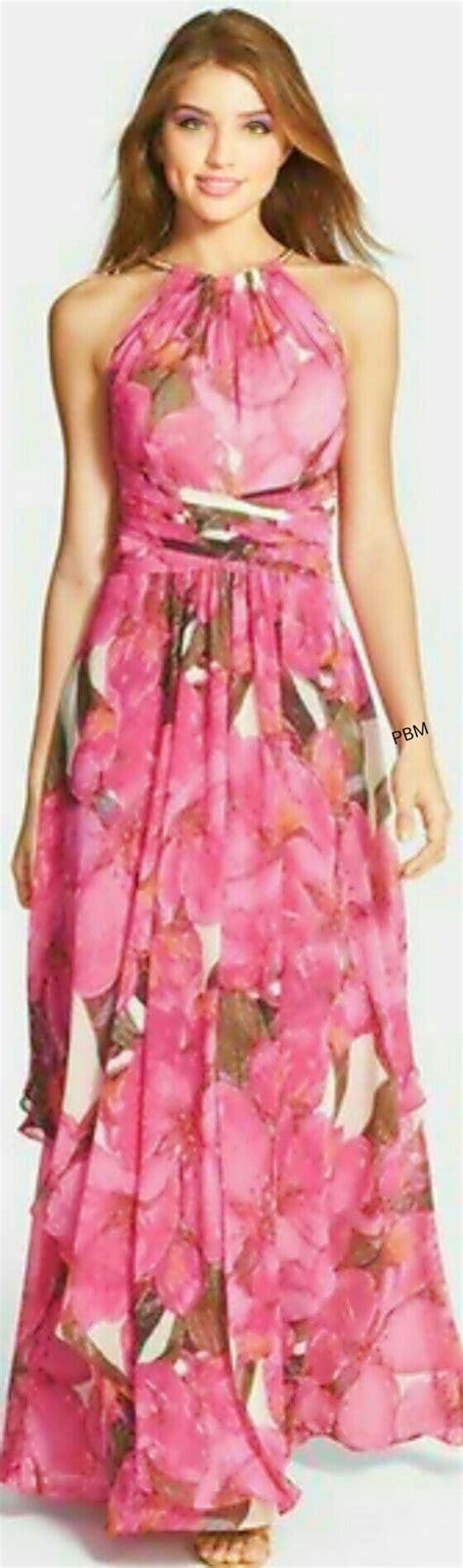 Maxi Rosita marron y rosita brown pink nordstrom