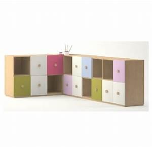Meuble Casier Rangement : meuble de rangement en angle 18 casiers meubles rangement ~ Teatrodelosmanantiales.com Idées de Décoration