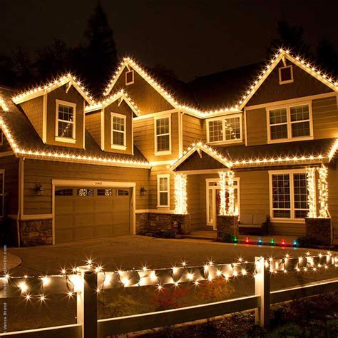 how to decorate house with christmas lights outdoor decorating ideas