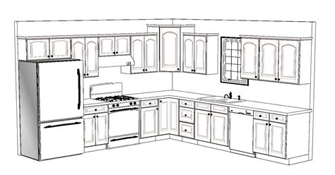 how to lay out a kitchen design how to design kitchen layout peenmedia 9468