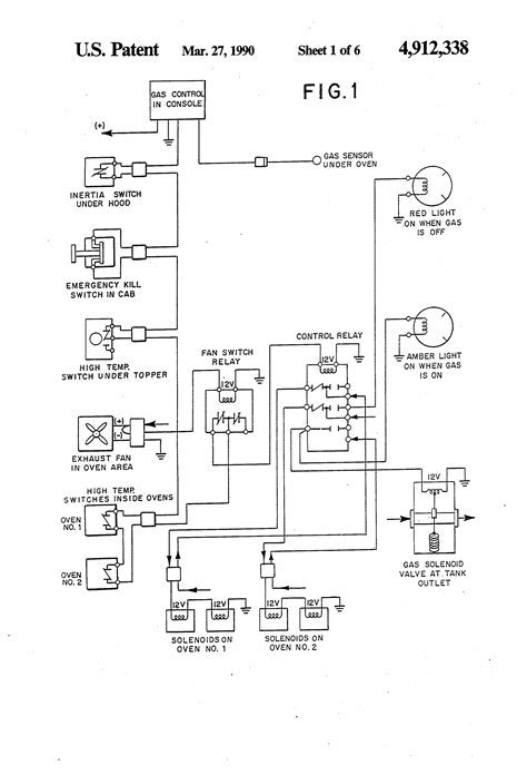 ansul shut down wiring diagram commercial hood electrical