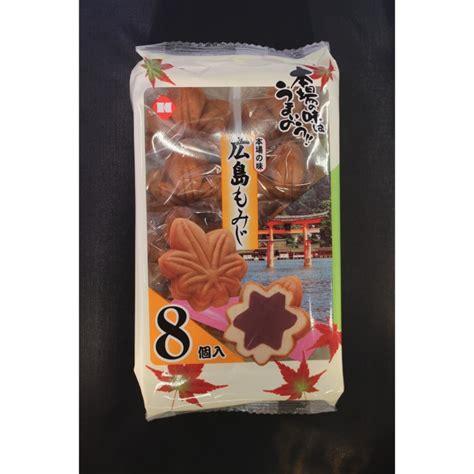 spécialité japonaise cuisine gâteaux japonais hiroshima momiji kotobuki 304g le carré
