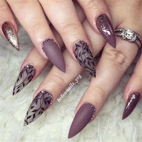 Las mejores ideas para tener unas uñas acrílicas hermosas de una manera muy sencilla y rapida. 35 Encantadores Diseños de Uñas Puntiagudas que Desearás Tener