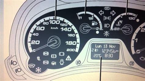 ford ka mk dashboard warning lights symbols