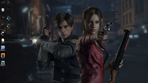 Resident Evil 2 Remake Leonclaire Live Wallpaper Free