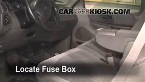 Interior Fuse Box Location  1997-2004 Ford F-150