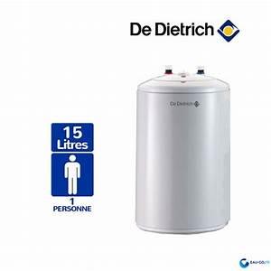 Chauffe Eau Electrique Sous Evier : chauffe eau electrique 15l de dietrich cor email bloc sous ~ Dailycaller-alerts.com Idées de Décoration