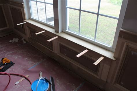 How To Make An Interior Window Sill by Our Home From Scratch