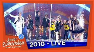 Junior Eurovision Song Contest 2010 - All previous winners ...  Contest