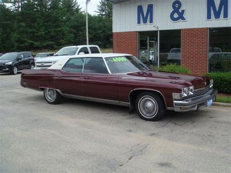 1974 Buick Electra by Sell Used 1974 Buick Electra 225 Custom 7 5l In Epsom New