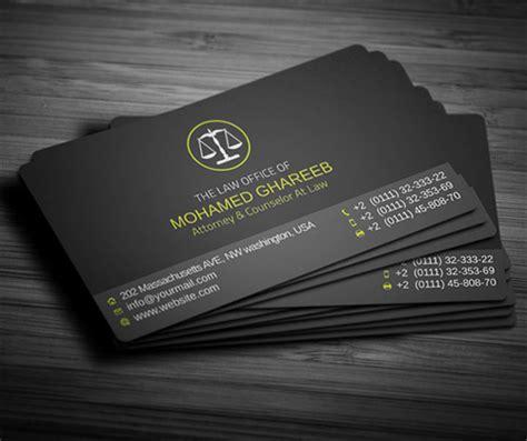 lawyer business card designs naldz graphics