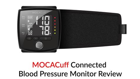 MOCACuff Connected Blood Pressure Monitor Review - YouTube