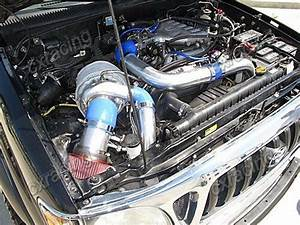 Turbo Kit Intercooler Manifold Downpipe For 95