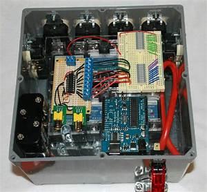 Giant Vu Meter    Control Box Build