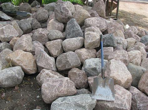 mchenry county rocks granite boulders stones a yard