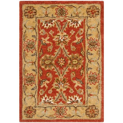 Rug Gold by Safavieh Antiquity Rust Gold 2 Ft X 3 Ft Area Rug At249c