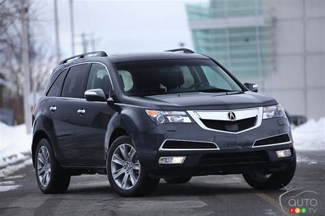 2013 Acura Mdx Review by Auto123 New Cars Used Cars Auto Shows Car Reviews