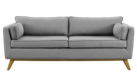 Gray Contemporary Sofa by Gray Modern Sofa Modern Sofas Leigh Wool Sofa Eurway