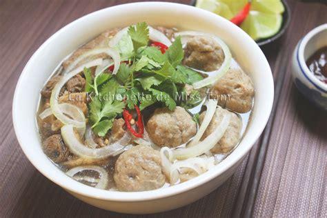 cuisiner des boulettes de boeuf boulettes de boeuf vietnamiennes par la kitchenette de