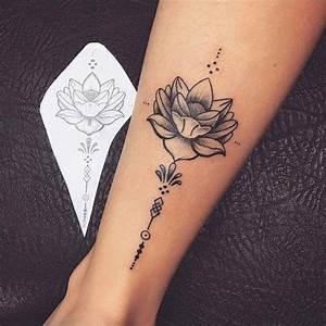 Tatouage Bras Femme Fleur T Towierungarm Tatouage Rose Femme