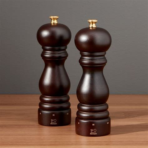 Peugeot Salt And Pepper Mills by Peugeot Salt And Pepper Mills Crate And Barrel