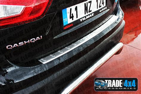 nissan qashqai rear bumper protector bumper sill cover top protector 2014 j11 ebay