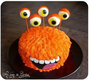 Gateau D Halloween : monstre orange au pays de candice ~ Melissatoandfro.com Idées de Décoration
