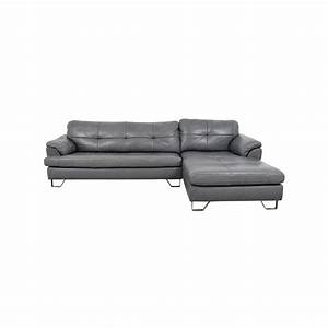 83 off ashley furniture ashley furniture gray tufted With tufted sectional sofa