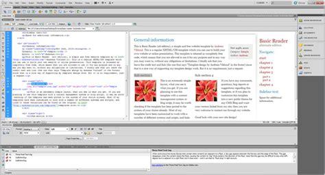 templates for dreamweaver cc adobe dreamweaver cc in one click virus free