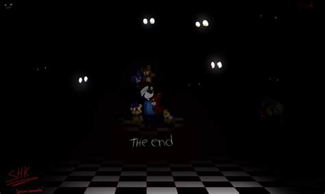 fnaf 4 end by anonimo44 on deviantart
