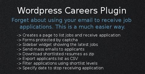 wordpress jobs plugins design freebies