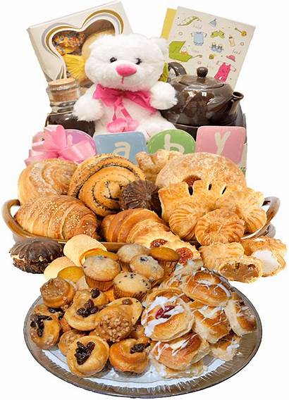 Bakery Goods Baked Gift Baskets Cakes Cookies