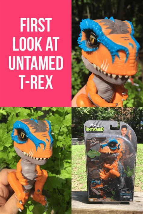 check  wowwees  untamed  rex dinosaur fingerling