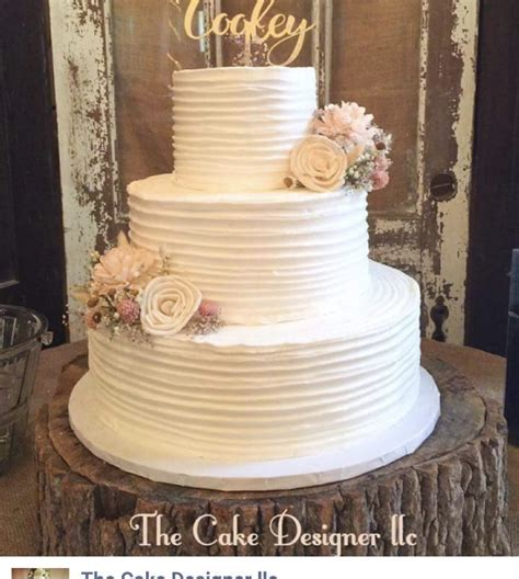 How To Decorate A Rustic Wedding Cake Table Rustic Wedding