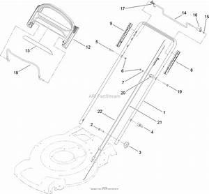 Toro 20332  22in Recycler Lawn Mower  2012  Sn 312000001