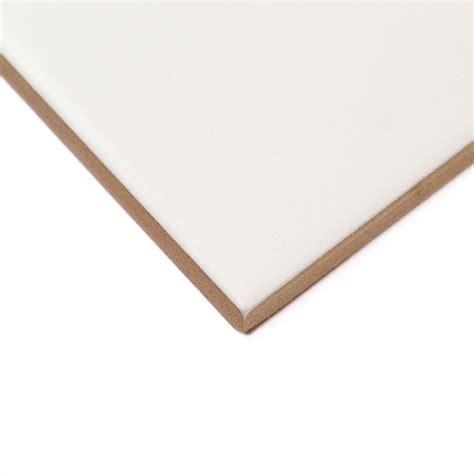 basic white 3x6 matte ceramic wall tile tilebar