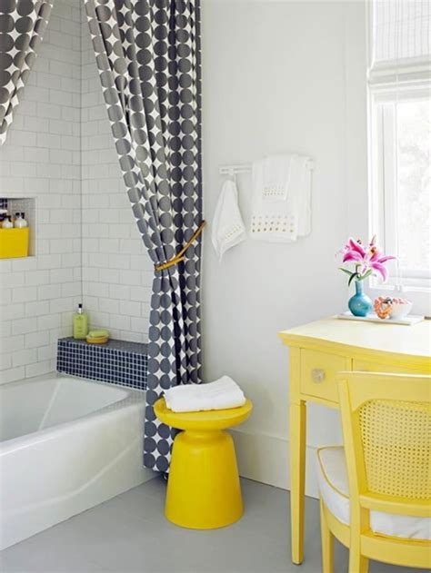 grey and yellow bathroom keeping your sanity during a home renovation centsational girl