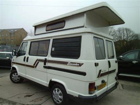 fiat ducato cer mobile 1992 citroen c25 auto sleeper sunseeker hi top cers